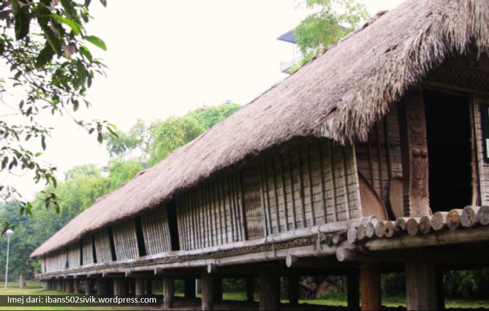 Delta Ilmu Rumah Panjang Iban Sarawak